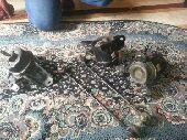 قطع سوناتا  كراسي مكينه وكاله ومسامير توازن