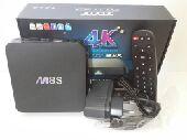 جهاز الترفيه الذكي بنوعيه m8s  mxq