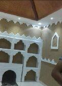 معلم دهانات وورق الجدران ومجالس تراثية