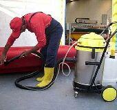 تنظيف الكنب والمفارش والباطرمة  تنظيف الشقق