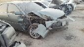 كامري مصدوم2003 نظيف جدا قبل الحادث قير عادي