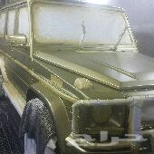 رش مطفى وشفط صدمات بدون معجون ورش