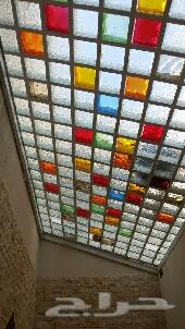 تركيب اسقف بلك زجاجي