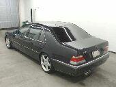 مرسيدس شبح 1997 مقاس S500L بحالة الوكاله
