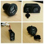 وصلة USB للي يبي يبدل ولاعة السيارة ومربعة وبيوت لترهيم وقارء جهد