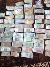 عملات نقدية ورقية ومعدنية للبيع