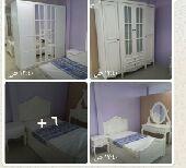 غرف نوم جديدة ألوان مختلفة جاهزه وتفصيل وطني
