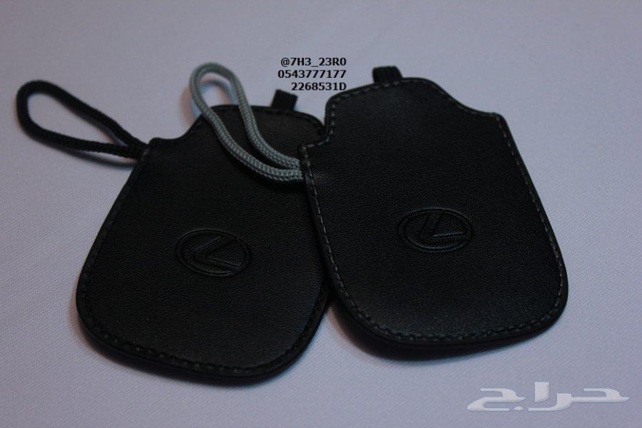 للبيع جراب (كفر) مفتاح اللكزس الجديدة ES - GS - IS موديلات (2013 - 2016) الجلد الأصلي