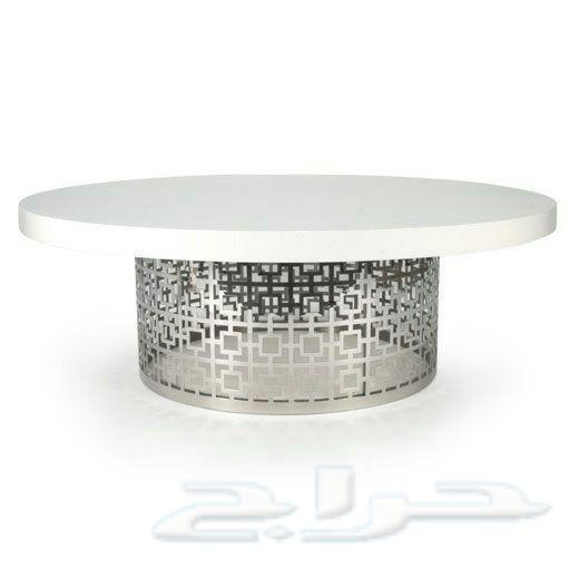 8c6dbb7b4bef2 طاولات حديد فخمة وقص ليزر وتفصيل حسب الطلب