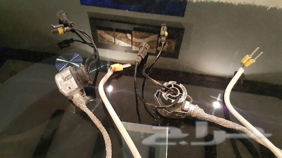 اجهزة زينون لكزس وكاله اصلي مستعمل نظيف جدا