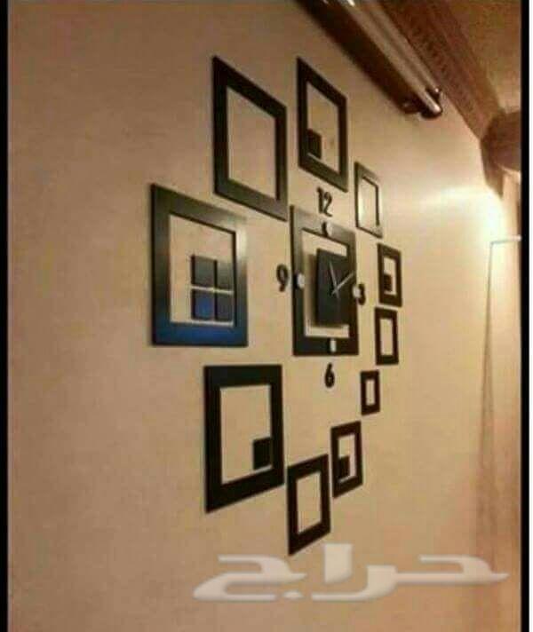 ساعات حائط خشبيه