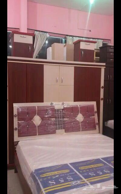 غرف نوم جديده الوان مختلفه جاهزه للتركيب